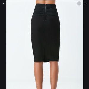 Bebe high waist bodycon pencil skirt (S)